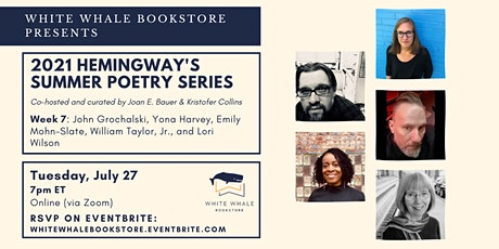 Hemingway's Poetry Series: Grochalski, Harvey, Mohn-Slate, Taylor, Wilson tickets