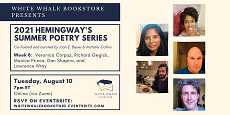 Hemingway's Poetry Series: Corpuz, Gegick, Prince, Shapiro, Wray tickets