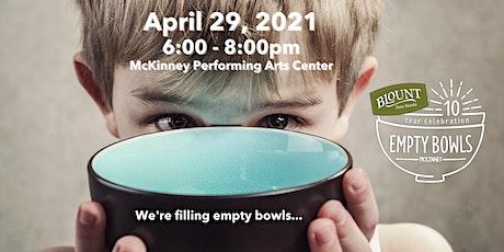 Empty Bowls McKinney 2021 tickets