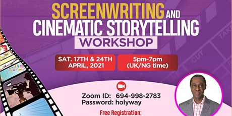 Online Screenwriting and Cinematic Storytelling Workshop tickets