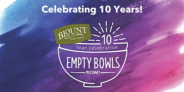 Empty Bowls McKinney 2021 image