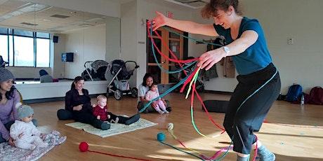 Jeux de danse pour petite enfance - Focus:  petits espaces et accessoires billets