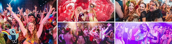 Morning Gloryville Back to the 80's! Rave image