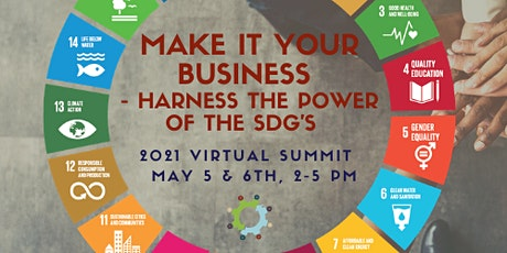 2021 Virtual Summit: Make it Your Business - Harness the Power of the SDG's tickets