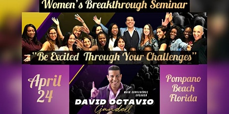 """""""Be Excited Through Your Challenges""""  -Empowering Women  Seminar tickets"""