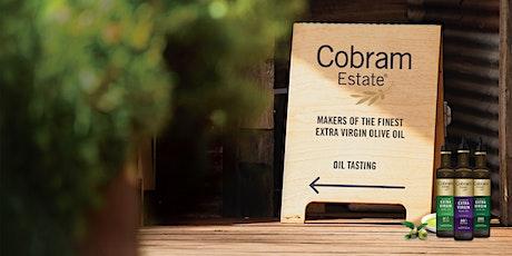Cobram Estate Virtual Extra Virgin Olive Oil Tasting August19th Masterclass tickets