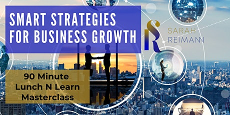 Smart Strategies For Business Growth tickets
