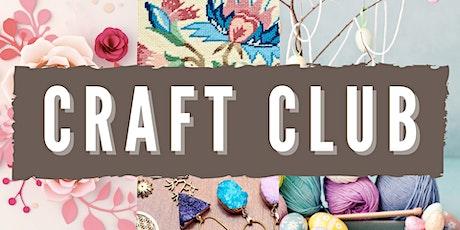 Craft Club - Noarlunga: School Holiday Special tickets