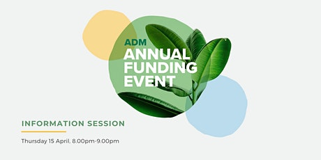 Annual Funding Event 2021 - Online Information Session tickets