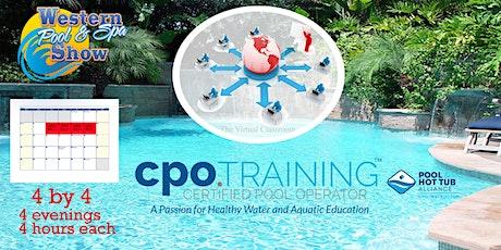 "Virtual CPO  ""4 by 4"" Certification Class, November 16 thru 19 tickets"