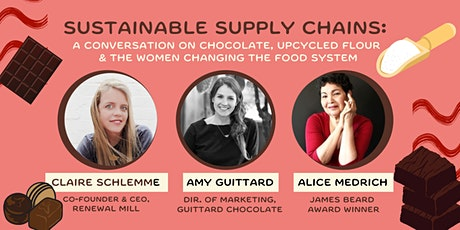 Sustainable Supply Chains: The Women Building Sustainability Into CPG Food tickets