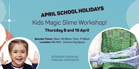 FREE kids workshop: Magic Slime tickets