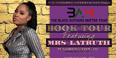 The Black Authors Matter Tour London, GB tickets