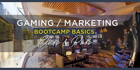 Gaming/Marketing Management Basic's Bootcamp tickets