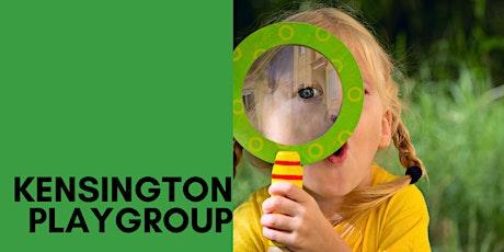 Kensington Park Playgroup (0-5 year olds) Term 2 Week 1 tickets