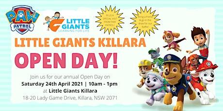 Little Giants Killara Open Day tickets