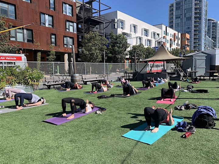 Outdoor Yoga at Parklab Gardens image