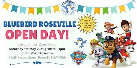 Bluebird Roseville Open Day tickets