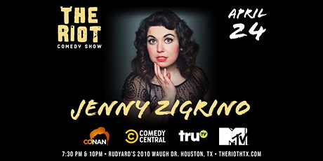 The Riot Standup Comedy Show presents Jenny Zigrino (CONAN, Comedy Central) tickets