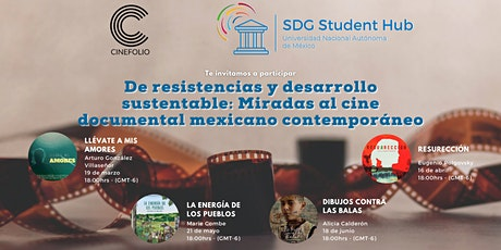 De resistencias y desarrollo sustentable: Miradas al cine documental tickets