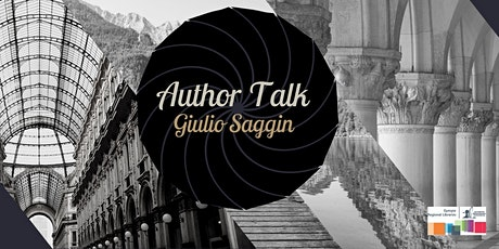 Author Talk with Giulio Saggin tickets