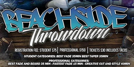 """Beachside Throwdown"" Barber Battle tickets"