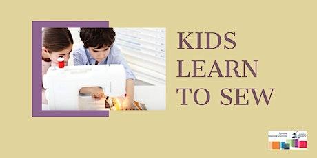 Kids Learn to Sew - Beginner tickets