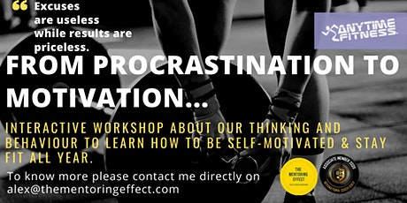 From Procrastination to Motivation Strategies for success tickets