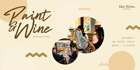 Paint & Wine: Springtime tickets