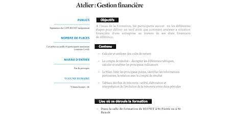 Atelier Gestion Financière tickets
