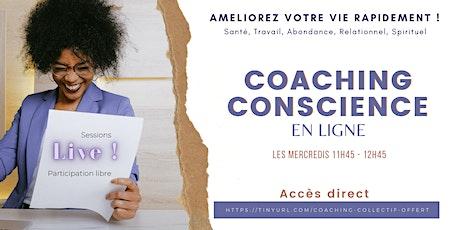 Coaching Conscience en ligne tickets