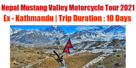 Upper Mustang Motorcycle Tour tickets