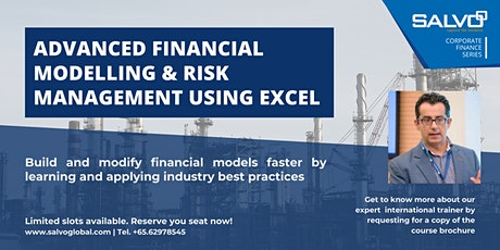 Advanced Financial Modelling & Risk Management Using Excel tickets