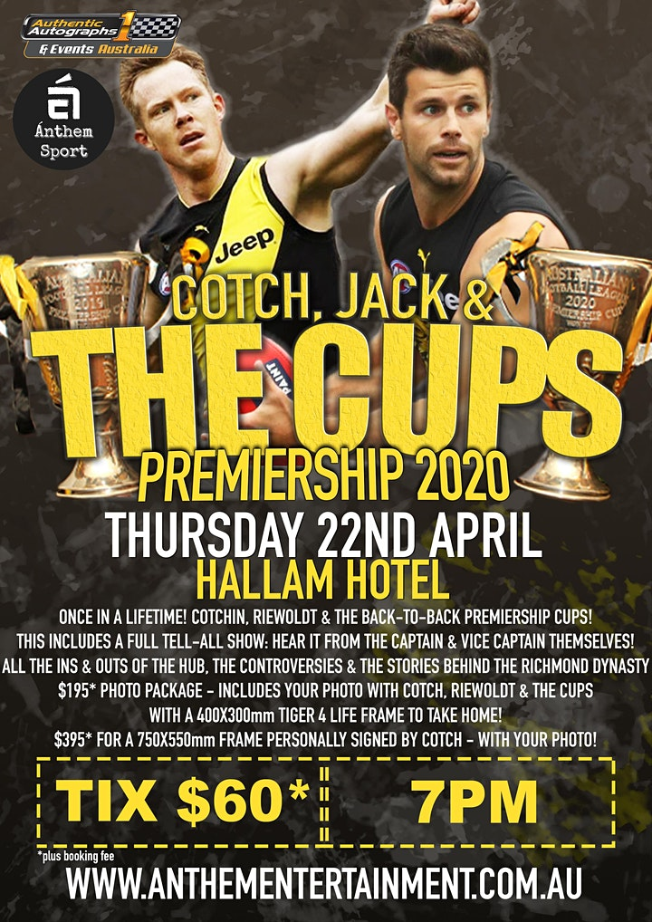 Cotch, Jack & The Cups @ The Hallam Hotel image