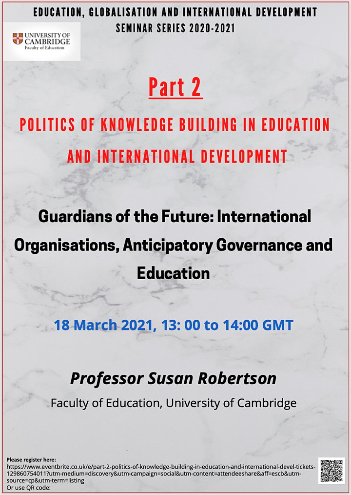 Part 2: Politics of Knowledge Building in Education and International Devel image