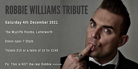 Robbie Williams Tribute tickets