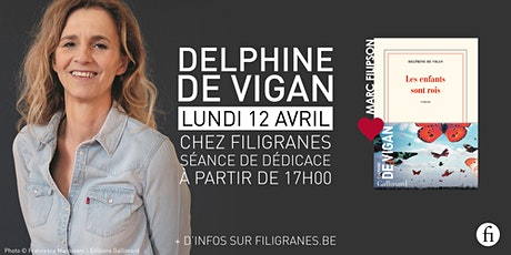Delphine de Vigan en dédicace ! billets