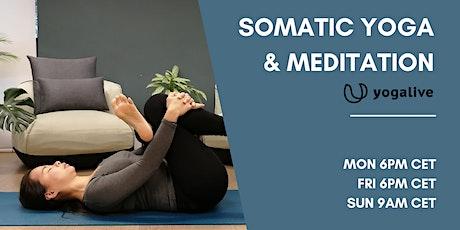Somatic Yoga & Meditation for Flexibility & Focus entradas