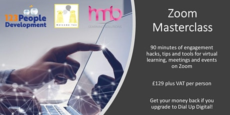Engaging on Zoom Masterclass tickets