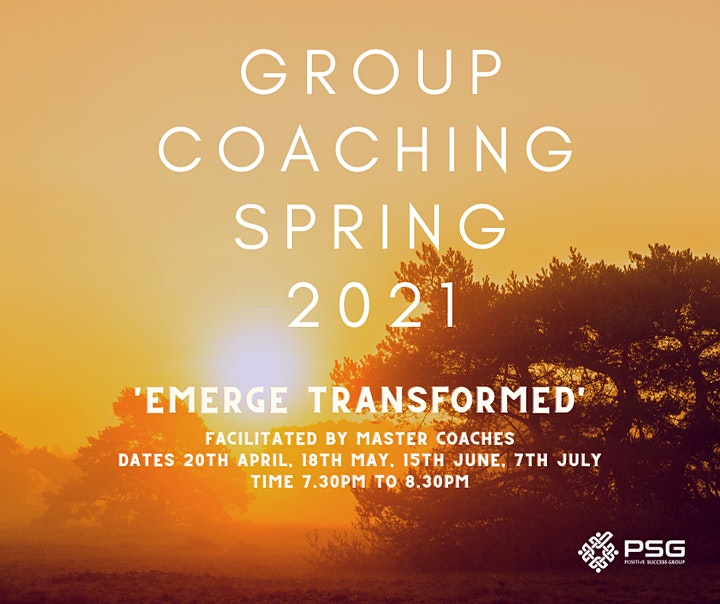 PSG Group Coaching Spring 'Emerge Transformed' image