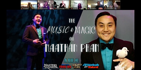 The Music & Magic of Naathan Phan tickets