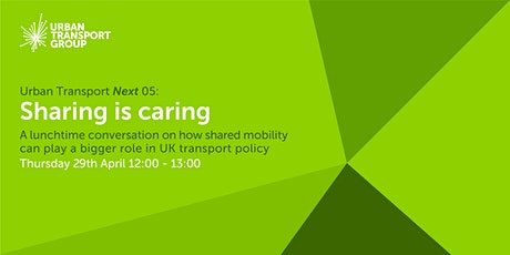 Urban Transport Next 05: Sharing is caring tickets