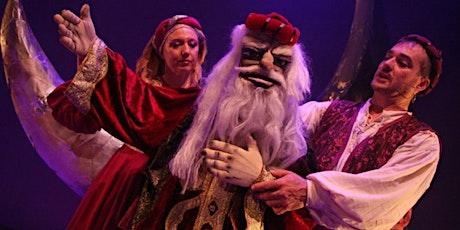 Cia. Maracaibo  SIMBAD EL MARINO (MENUTSBARRIS)Teatro T´íteres entradas
