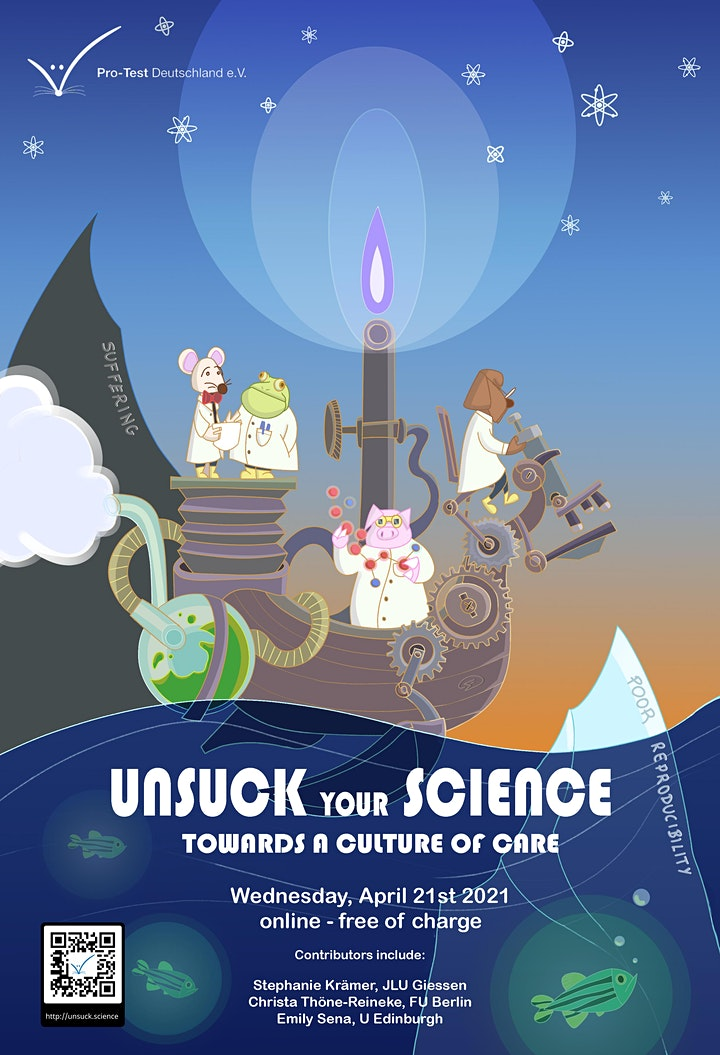 Unsuck your Science 2021 image