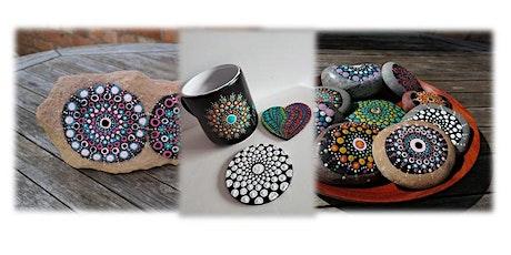 Mandala Dot Art with Tabzy tickets