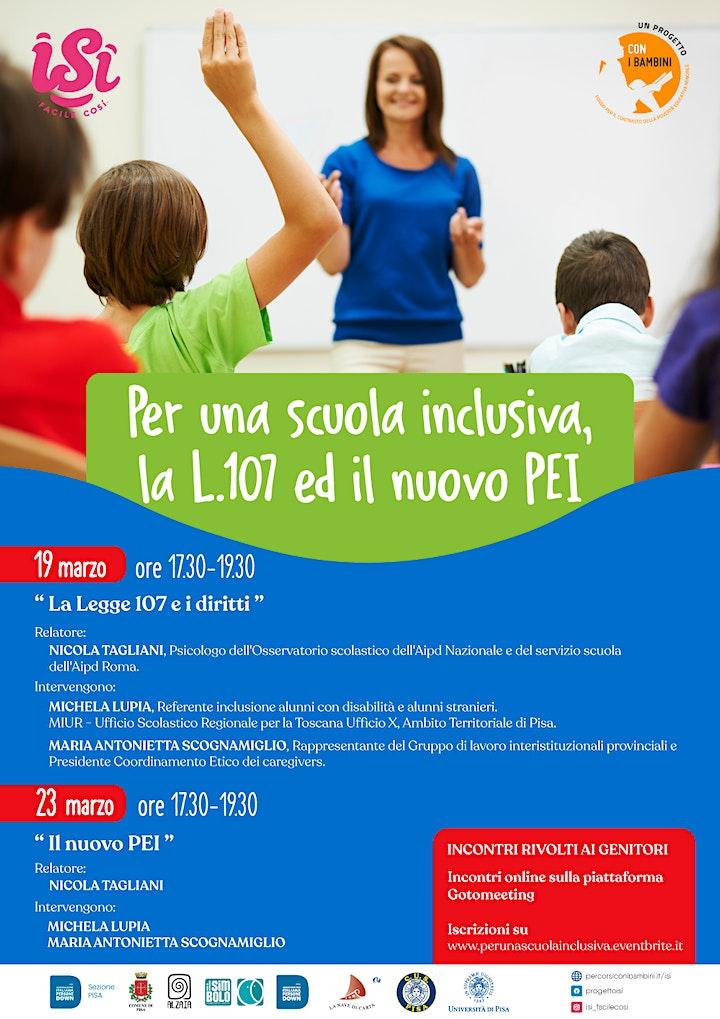 Immagine Per una scuola inclusiva, la L. 107 e il nuovo PEI