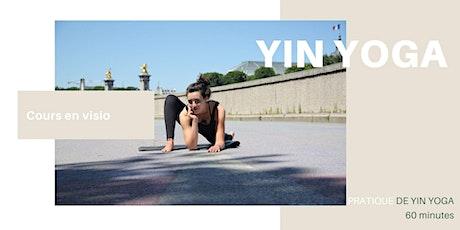 Initiation au Yin Yoga | 5€ | Classe en ligne billets