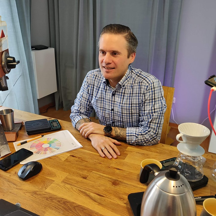 Online-Kaffee-Kurs: Bild