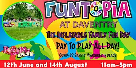 Funtopia at Daventry tickets