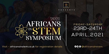 2021 Africans in STEM symposium tickets